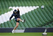 13 December 2019; Ross Byrne during the Leinster Rugby captain's run at the Aviva Stadium in Dublin. Photo by Ramsey Cardy/Sportsfile