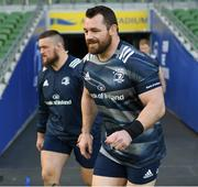 13 December 2019; Cian Healy during the Leinster Rugby captain's run at the Aviva Stadium in Dublin. Photo by Ramsey Cardy/Sportsfile
