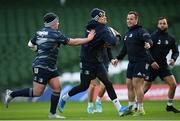 13 December 2019; Garry Ringrose during the Leinster Rugby captain's run at the Aviva Stadium in Dublin. Photo by Ramsey Cardy/Sportsfile