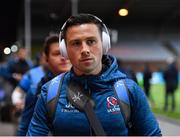 13 December 2019; John Cooney of Ulster arrives prior to the Heineken Champions Cup Pool 3 Round 4 match between Harlequins and Ulster at Twickenham Stoop in London, England. Photo by Seb Daly/Sportsfile