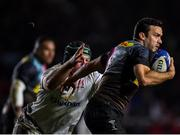 13 December 2019; Martin Landajo of Harlequins evades the tackle of Eric O'Sullivan of Ulster during the Heineken Champions Cup Pool 3 Round 4 match between Harlequins and Ulster at Twickenham Stoop in London, England. Photo by Seb Daly/Sportsfile