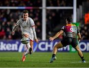 13 December 2019; Billy Burns of Ulster in action against Martin Landajo of Harlequins during the Heineken Champions Cup Pool 3 Round 4 match between Harlequins and Ulster at Twickenham Stoop in London, England. Photo by Seb Daly/Sportsfile