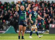 14 December 2019; Finlay Bealham of Connacht celebrates the winning try being awarded during the Heineken Champions Cup Pool 5 Round 4 match between Connacht and Gloucester at The Sportsground in Galway. Photo by Harry Murphy/Sportsfile
