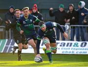 14 December 2019; Robin Copeland of Connacht goes over to score his side's third try during the Heineken Champions Cup Pool 5 Round 4 match between Connacht and Gloucester at The Sportsground in Galway. Photo by Harry Murphy/Sportsfile