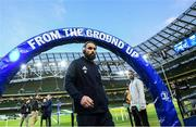 14 December 2019; Scott Fardy of Leinster ahead of the Heineken Champions Cup Pool 1 Round 4 match between Leinster and Northampton Saints at the Aviva Stadium in Dublin. Photo by Ramsey Cardy/Sportsfile