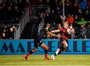 14 December 2019; Mike Haley of Munster in action against Alex Lozowski of Saracens during the Heineken Champions Cup Pool 4 Round 4 match between Saracens and Munster at Allianz Park in Barnet, England. Photo by Seb Daly/Sportsfile