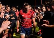 14 December 2019; CJ Stander of Munster leads his side from the field following their defeat during the Heineken Champions Cup Pool 4 Round 4 match between Saracens and Munster at Allianz Park in Barnet, England. Photo by Seb Daly/Sportsfile