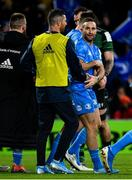 14 December 2019; Dave Kearney of Leinster, right, celebrates with Rob Kearney after scoring his side's fourth try during the Heineken Champions Cup Pool 1 Round 4 match between Leinster and Northampton Saints at the Aviva Stadium in Dublin. Photo by Sam Barnes/Sportsfile