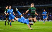 14 December 2019; Dave Kearney of Leinster scores a try which was subsequently disallowed during the Heineken Champions Cup Pool 1 Round 4 match between Leinster and Northampton Saints at the Aviva Stadium in Dublin. Photo by Stephen McCarthy/Sportsfile