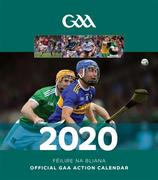 The Official GAA Action Calendar 2020 with a page to view per month features action and fan shots throughout. Postage is additional to the retail price of €10.95. **NOTE: This is a preorder item and deliveries will commence Monday, December 16th**