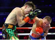 14 December 2019; Michael Conlan, left, and Vladimir Nikitin during their featherweight bout at Madison Square Garden in New York, USA. Photo by Mikey Williams/Top Rank/Sportsfile