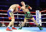 14 December 2019; Michael Conlan, right, and Vladimir Nikitin during their featherweight bout at Madison Square Garden in New York, USA. Photo by Mikey Williams/Top Rank/Sportsfile