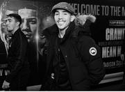 14 December 2019; Michael Conlan, right, arrives with his brother Jamie ahead of his featherweight bout against Vladimir Nikitin at Madison Square Garden in New York, USA. Photo by Mikey Williams/Top Rank/Sportsfile