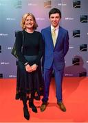 14 December 2019; In attendance during the RTÉ Sports Awards 2019 at RTÉ studios in Donnybrook, Dublin, are Sally Corscadden and Cathal Daniels. Photo by Brendan Moran/Sportsfile