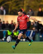 14 December 2019; JJ Hanrahan of Munster during the Heineken Champions Cup Pool 4 Round 4 match between Saracens and Munster at Allianz Park in Barnet, England. Photo by Seb Daly/Sportsfile