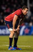14 December 2019; Tommy O'Donnell of Munster during the Heineken Champions Cup Pool 4 Round 4 match between Saracens and Munster at Allianz Park in Barnet, England. Photo by Seb Daly/Sportsfile