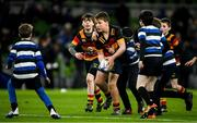 14 December 2019; Action from the Bank of Ireland Half-Time Minis between Lansdowne and Wanderers at the Heineken Champions Cup Pool 1 Round 4 match between Leinster and Northampton Saints at the Aviva Stadium in Dublin. Photo by Ramsey Cardy/Sportsfile