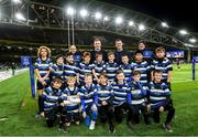 14 December 2019; The Wanderers team with Leinster players Dan Leavy and Jonathan Sexton at the Heineken Champions Cup Pool 1 Round 4 match between Leinster and Northampton Saints at the Aviva Stadium in Dublin. Photo by Ramsey Cardy/Sportsfile