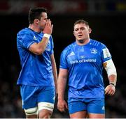 14 December 2019; James Ryan, left, and Tadhg Furlong of Leinster during the Heineken Champions Cup Pool 1 Round 4 match between Leinster and Northampton Saints at the Aviva Stadium in Dublin. Photo by Ramsey Cardy/Sportsfile