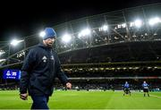 14 December 2019; Leinster head coach Leo Cullen ahead of the Heineken Champions Cup Pool 1 Round 4 match between Leinster and Northampton Saints at the Aviva Stadium in Dublin. Photo by Ramsey Cardy/Sportsfile