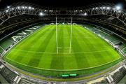 14 December 2019; A general view of the stadium following the Heineken Champions Cup Pool 1 Round 4 match between Leinster and Northampton Saints at the Aviva Stadium in Dublin. Photo by Ramsey Cardy/Sportsfile