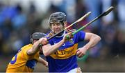 15 December 2019; Alan Flynn of Tipperary in action against Mikey O'Neill of Clare during the Co-op Superstores Munster Hurling League 2020 Group A match between Tipperary and Clare at McDonagh Park in Nenagh, Tipperary. Photo by Piaras Ó Mídheach/Sportsfile