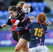 15 December 2019; Action during the Leinster Rugby Girls U16 Cup Final match between Portlaoise and Wicklow at Energia Park in Donnybrook, Dublin. Photo by Ramsey Cardy/Sportsfile