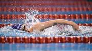 15 December 2019; Amelia Kane of ARDS competing in the Womens 1500m Freestyle final during day four of the Irish Short Course Championships at the National Aquatic Centre in Abbotstown, Dublin. Photo by Eóin Noonan/Sportsfile