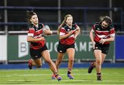 15 December 2019; Action during the Leinster Rugby Girls 18s Cup Final match between Port Dara and Wicklow at Energia Park in Donnybrook, Dublin. Photo by Ramsey Cardy/Sportsfile