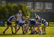 17 December 2019; Dublin North Schools and St Kieran's College players battle for possession during the Top Oil Leinster Schools Senior A Hurling Championship First Round match between Dublin North Schools and St Kieran's College at Naomh Barróg GAA Club in Kilbarrack, Dublin. Photo by Harry Murphy/Sportsfile