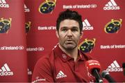 17 December 2019; Billy Holland during a Munster Rugby press conference at Thomond Park in Limerick. Photo by Matt Browne/Sportsfile