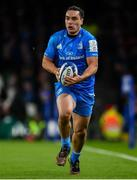 14 December 2019; James Lowe of Leinster during the Heineken Champions Cup Pool 1 Round 4 match between Leinster and Northampton Saints at the Aviva Stadium in Dublin. Photo by Sam Barnes/Sportsfile