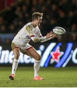 13 December 2019; Billy Burns of Ulster during the Heineken Champions Cup Pool 3 Round 4 match between Harlequins and Ulster at Twickenham Stoop in London, England. Photo by John Dickson/Sportsfile