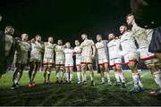 13 December 2019; Iain Henderson of Ulster talks to his team-mates after the Heineken Champions Cup Pool 3 Round 4 match between Harlequins and Ulster at Twickenham Stoop in London, England. Photo by John Dickson/Sportsfile