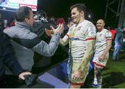 13 December 2019; Jacob Stockdale of Ulster after the Heineken Champions Cup Pool 3 Round 4 match between Harlequins and Ulster at Twickenham Stoop in London, England. Photo by John Dickson/Sportsfile