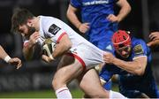 20 December 2019; John Andrew of Ulster is tackled by Josh van der Flier of Leinster during the Guinness PRO14 Round 8 match between Leinster and Ulster at the RDS Arena in Dublin. Photo by Ramsey Cardy/Sportsfile