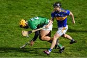 20 December 2019; Tom Morrissey of Limerick in action against Willie Connors of Tipperary during the Co-op Superstores Munster Hurling League 2020 Group A match between Limerick and Tipperary at LIT Gaelic Grounds in Limerick. Photo by Piaras Ó Mídheach/Sportsfile