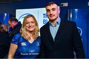 20 December 2019; Leinster player Ronán Kelleher with supporters in the Blue Room prior to the Guinness PRO14 Round 8 match between Leinster and Ulster at the RDS Arena in Dublin. Photo by Brendan Moran/Sportsfile