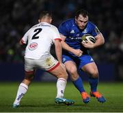 20 December 2019; Peter Dooley of Leinster during the Guinness PRO14 Round 8 match between Leinster and Ulster at the RDS Arena in Dublin. Photo by Ramsey Cardy/Sportsfile