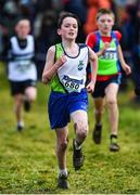 15 December 2019; Conor Jordan of Moy Valley A.C., Co. Mayo, competing in the U13 Boy's 3500m during the Irish Life Health Novice & Juvenile Uneven XC at Cow Park in Dunboyne, Co. Meath. Photo by Harry Murphy/Sportsfile