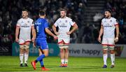 20 December 2019; David O'Connor, left, and Alan O'Connor and Greg Jones of Ulster, right, during the Guinness PRO14 Round 8 match between Leinster and Ulster at the RDS Arena in Dublin. Photo by Brendan Moran/Sportsfile