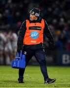 20 December 2019; Leinster scrum coach Robin McBryde during the Guinness PRO14 Round 8 match between Leinster and Ulster at the RDS Arena in Dublin. Photo by Brendan Moran/Sportsfile