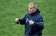 23 December 2019; Senior coach Stuart Lancaster during Leinster Rugby squad training at Energia Park in Dublin. Photo by Piaras Ó Mídheach/Sportsfile