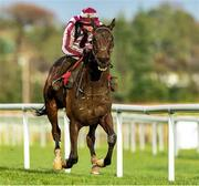 26 December 2019; Cedarwood Road, with Davy Russell up, on their way to winning the Best With Tote Maiden Hurdle during Day One of the Leopardstown Christmas Festival 2019 at Leopardstown Racecourse in Dublin. Photo by Matt Browne/Sportsfile
