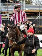 26 December 2019; Cedarwood Road, with Davy Russell up, after winning the Best With Tote Maiden Hurdle during Day One of the Leopardstown Christmas Festival 2019 at Leopardstown Racecourse in Dublin. Photo by Matt Browne/Sportsfile