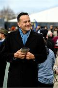 26 December 2019; An Taoiseach Leo Varadkar during Day One of the Leopardstown Christmas Festival 2019 at Leopardstown Racecourse in Dublin. Photo by Matt Browne/Sportsfile