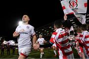 27 December 2019; John Cooney of Ulster runs out ahead of the Guinness PRO14 Round 9 match between Ulster and Connacht at the Kingspan Stadium in Belfast. Photo by Ramsey Cardy/Sportsfile