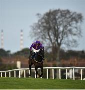28 December 2019; Easy Game, with Danny Mullins up, right, race clear to win the Ballymaloe Foods Beginners Chase during Day Three of the Leopardstown Christmas Festival 2019 at Leopardstown Racecourse in Dublin. Photo by David Fitzgerald/Sportsfile