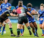 28 December 2019; Linda Djougang of Leinster during the Women's Rugby Friendly between Harlequins and Leinster at Twickenham Stadium in London, England. Photo by Matt Impey/Sportsfile
