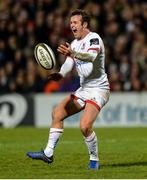 27 December 2019; Billy Burns of Ulster during the Guinness PRO14 Round 9 match between Ulster and Connacht at Kingspan Stadium in Belfast. Photo by Oliver McVeigh/Sportsfile